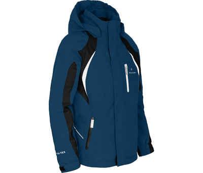 Bergson Winterjacke »JENS« Kinder Skijacke, wattiert, 12000 mm Wassersäule, Normalgrößen, poseidon blau