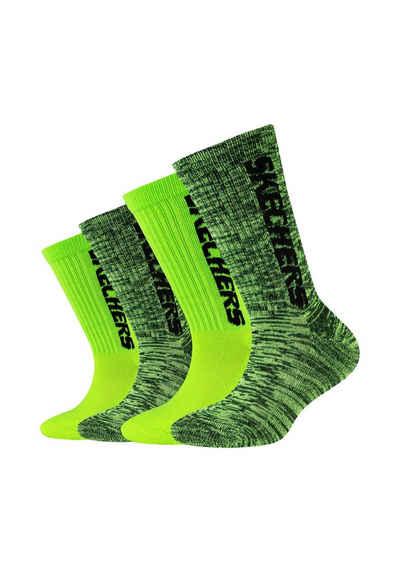 Skechers Socken (4-Paar) im praktischen 4er-Pack