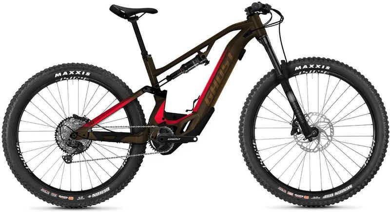 Ghost E-Bike »HybRide ASX Essential 160«, 12 Gang Shimano XT RD-M8100 Schaltwerk, Kettenschaltung, Mittelmotor 250 W