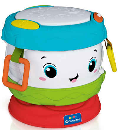 Clementoni® Spielzeug-Musikinstrument »Baby Clementoni - Baby Trommel«, mit Licht und Sound; Made in Europe
