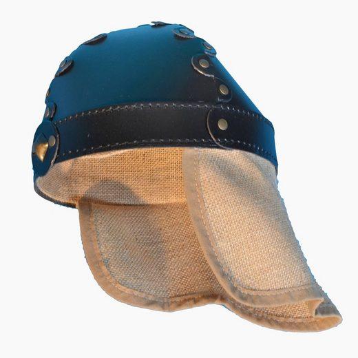 Fantashion Ritter-Kostüm »Helm mit Nackenschutz«