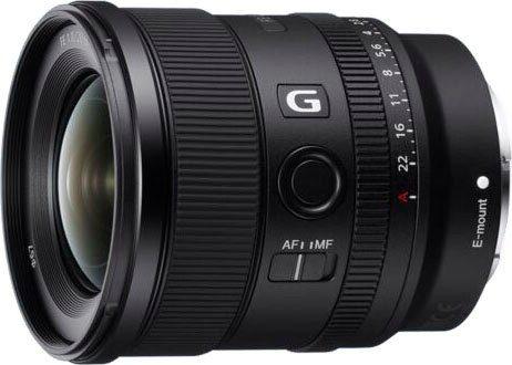 Sony »SEL20F18G« Weitwinkelobjektiv, (Vollformat E Mount (FE 20mm F1.8, Ultraweitwinkel)