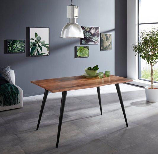 HELA Baumkantentisch »Jule I«, Breite 140 cm