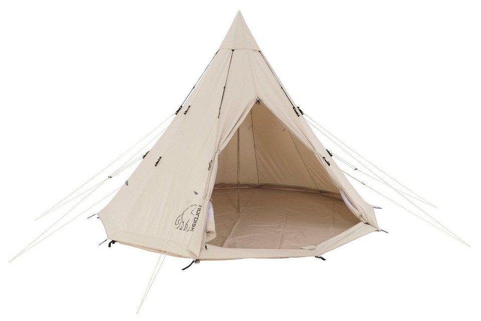 Nordisk Zelt »Alfheim 19.6 m² Tent Technical Cotton« in beige