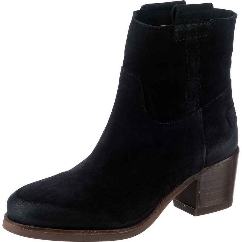 Shabbies Amsterdam »Shs0254 Ankle Boot Waxed Suede Klassische« Stiefelette