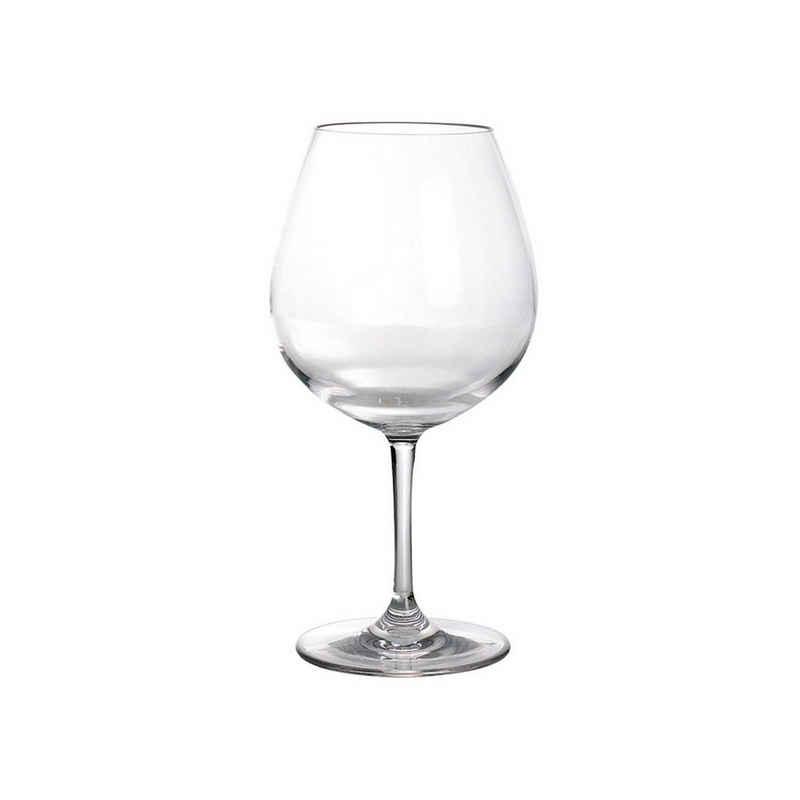 GIMEX Rotweinglas »Rotweinglas aus bruchfestem Polycarbonat - 700ml - Kunststoffgläser«, Kunststoff