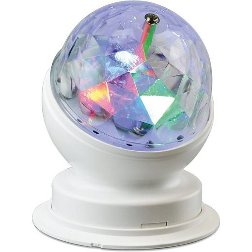 X4-Life Dekolicht »Rotierende LED-Partyleuchte«