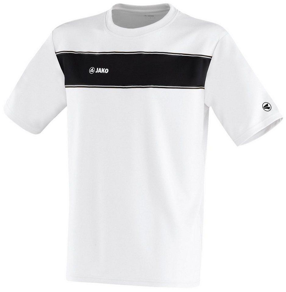 JAKO T-Shirt Player Herren in weiß/schwarz