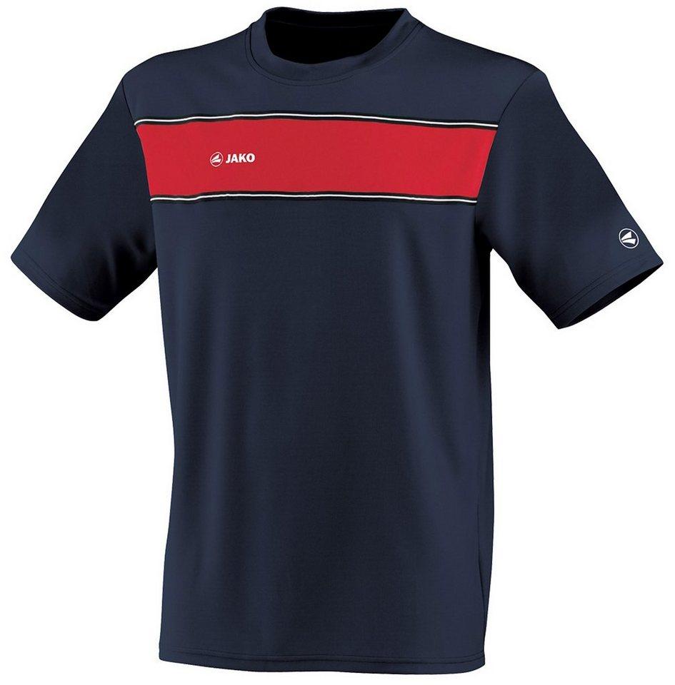 JAKO T-Shirt Player Herren in marine/rot