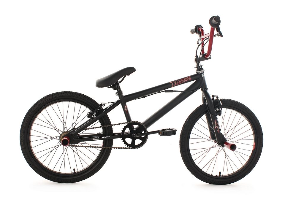 BMX Fahrrad, KS Cycling, »Dynamixxx«, rot, 20 Zoll, Alu-V-Brakes