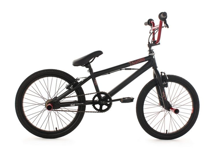 bmx fahrrad ks cycling dynamixxx rot 20 zoll alu v. Black Bedroom Furniture Sets. Home Design Ideas
