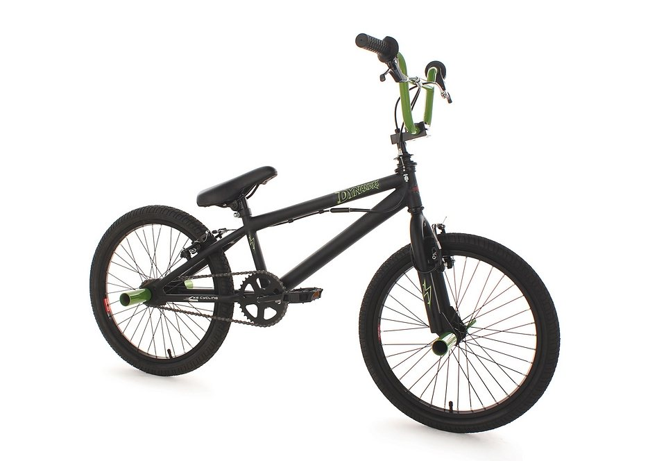 BMX Fahrrad, KS Cycling, »Dynamixxx«, grün, 20 Zoll, Alu-V-Brakes in grün