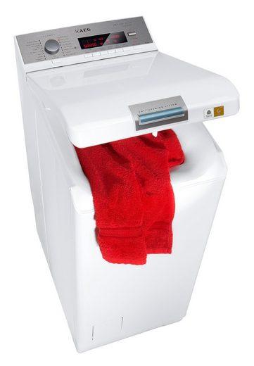 aeg waschmaschine toplader lavamat l86565tl4 6 kg 1500 u min online kaufen otto. Black Bedroom Furniture Sets. Home Design Ideas