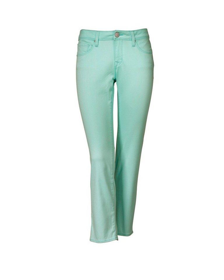 Mavi Uptown 7/8- Coloured Denim *Diana* in Mint