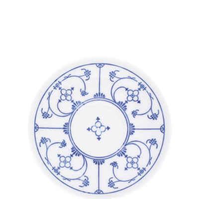 Kahla Untertasse »Blau Saks 14 cm«, von Hand dekoriert