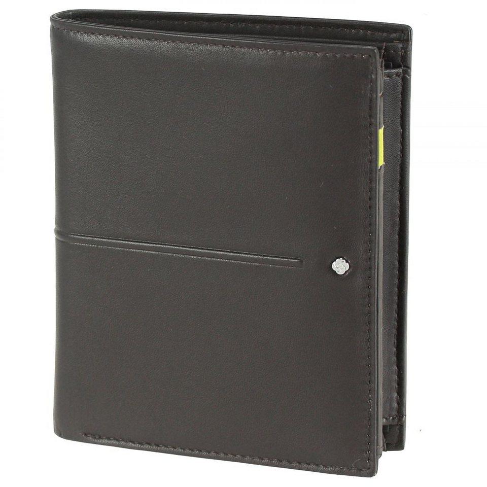 Samsonite Slim Light SLG Geldbörse Leder 10 cm in brown