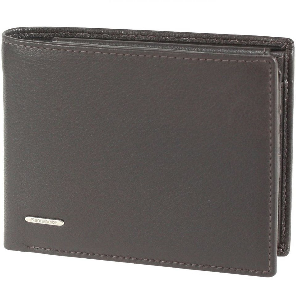 Samsonite NYX SLG Geldbörse Leder 12,5 cm in dark brown