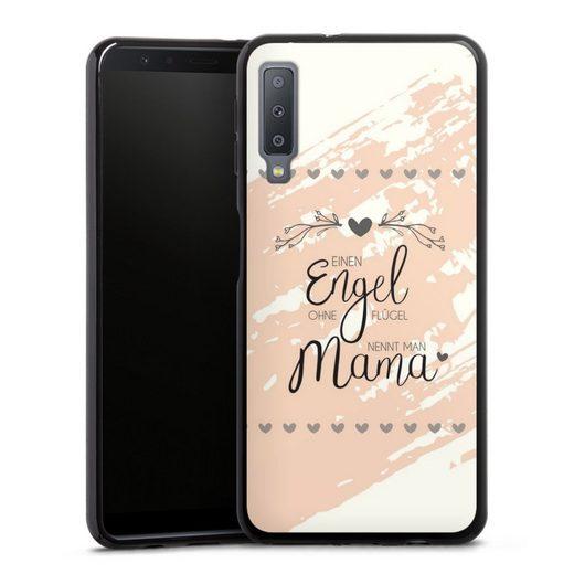 DeinDesign Handyhülle »Engel Mama« Samsung Galaxy A7 (2018), Hülle Muttertag Mama Sprüche