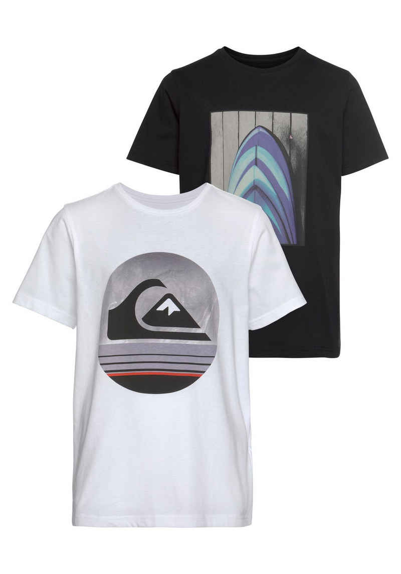 Quiksilver T-Shirt »BLUE SHIFT SS TEE PACK YOUTH« (Packung, 2er-Pack)