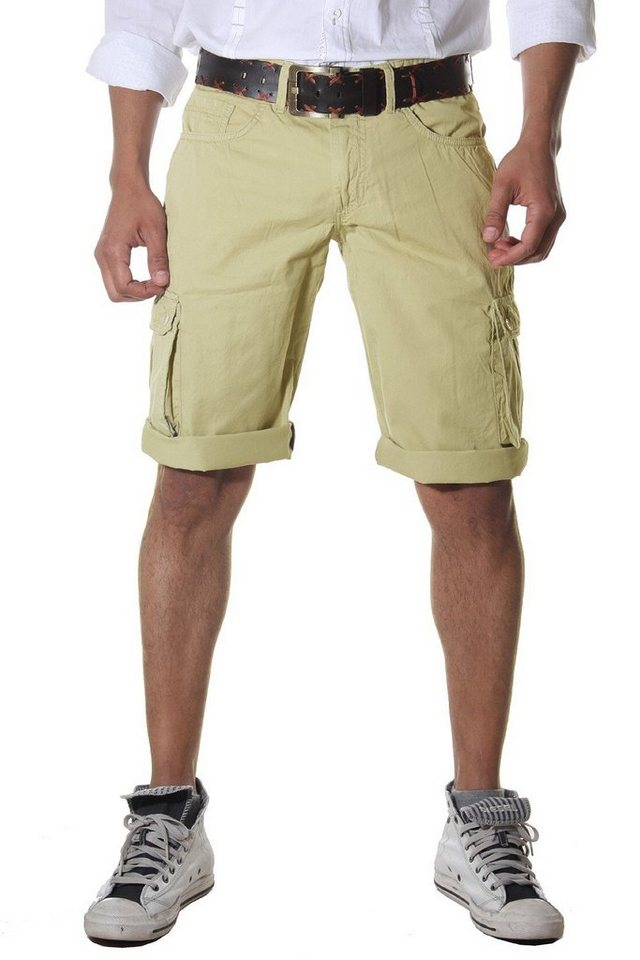 Bright Jeans Shorts in beige