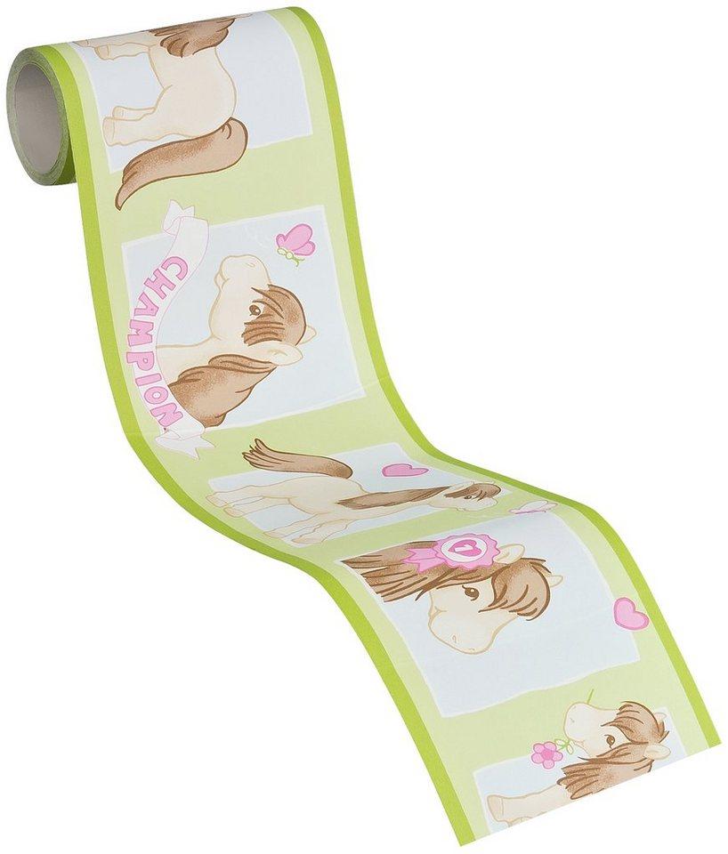 bord re livingwalls selbstklebend boys girls 4 little horses online kaufen otto. Black Bedroom Furniture Sets. Home Design Ideas