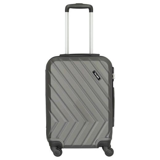 travelite Handgepäck-Trolley »Quick 4-Rollen Kabinentrolley S 55 cm«, 4 Rollen Rollen