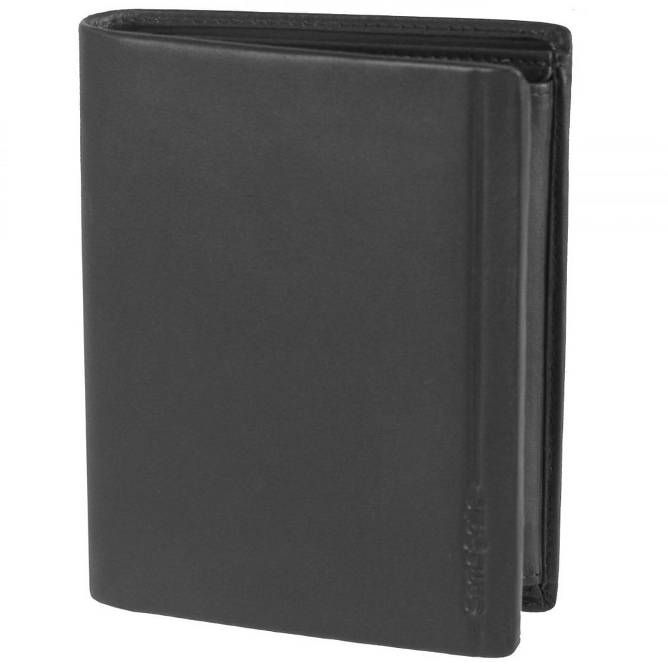 Samsonite Rhode Island SLG Geldbörse Leder 10 cm in black