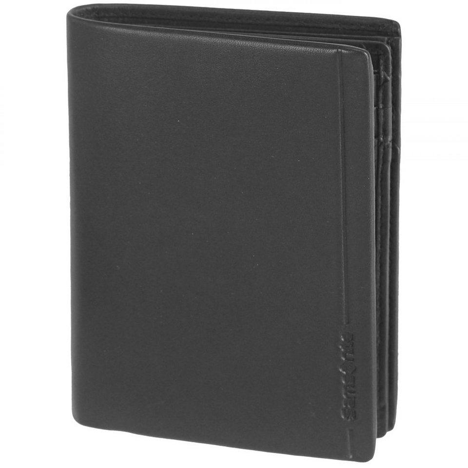 Samsonite Rhode Island SLG Geldbörse Leder 9,2 cm in black