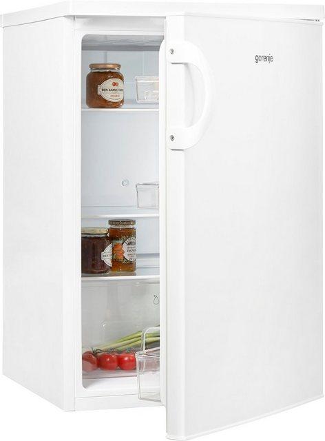 GORENJE Kühlschrank R492PW, 84,5 cm hoch, 56 cm breit