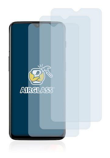 BROTECT Schutzfolie »Panzerglasfolie für OnePlus 6T McLaren«, (3 Stück), Schutzglas Glasfolie klar