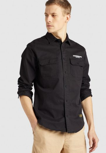 Schlussverkauf khujo Langarmhemd »ROGER« im Regular Fit aus festem Baumwollstoff