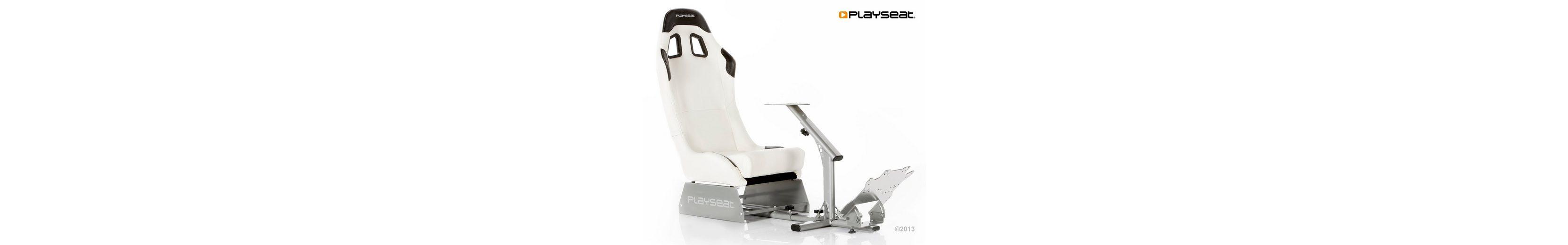 Playseats Rennsitz Playseat Evolution M Weiß/Silber »(PS3 PS4 PC X360 XBox One)«
