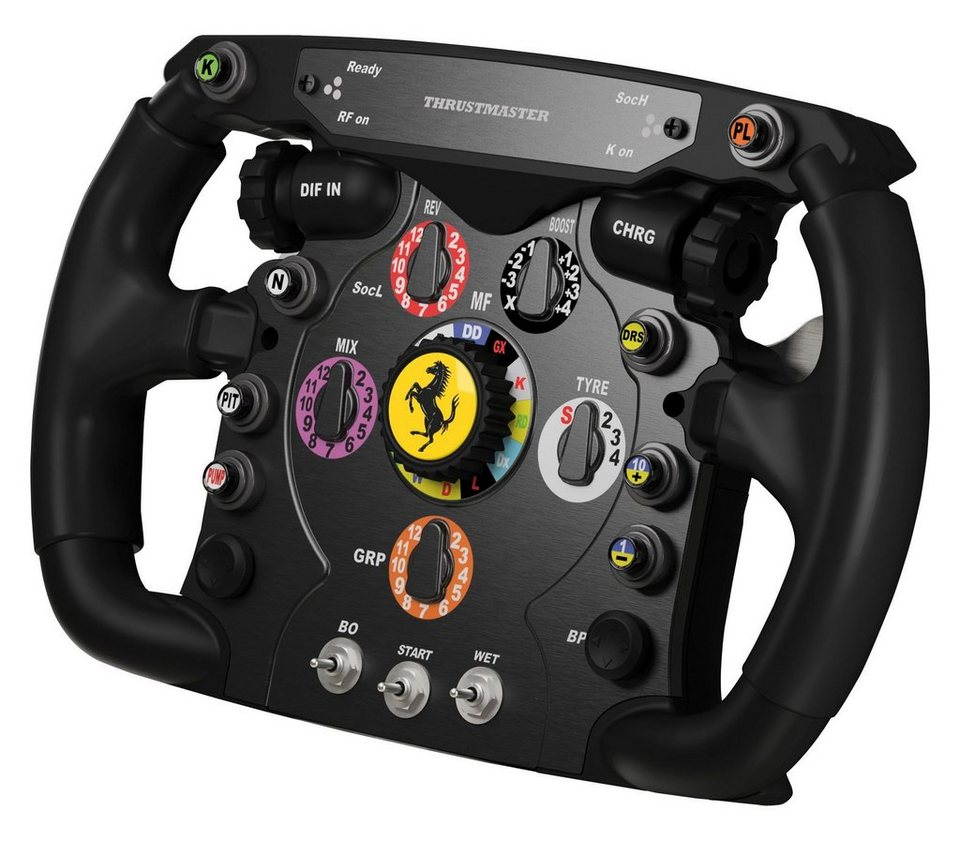 thrustmaster lenkrad ferrari f1 add on f r lenkrad t500. Black Bedroom Furniture Sets. Home Design Ideas