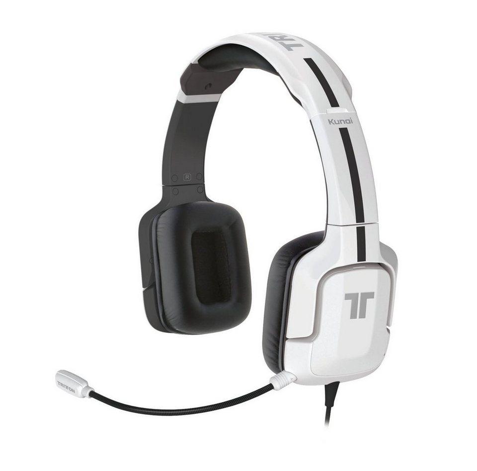 Mad Catz Headset Tritton Kunai Stereo Weiss »(PS3)«