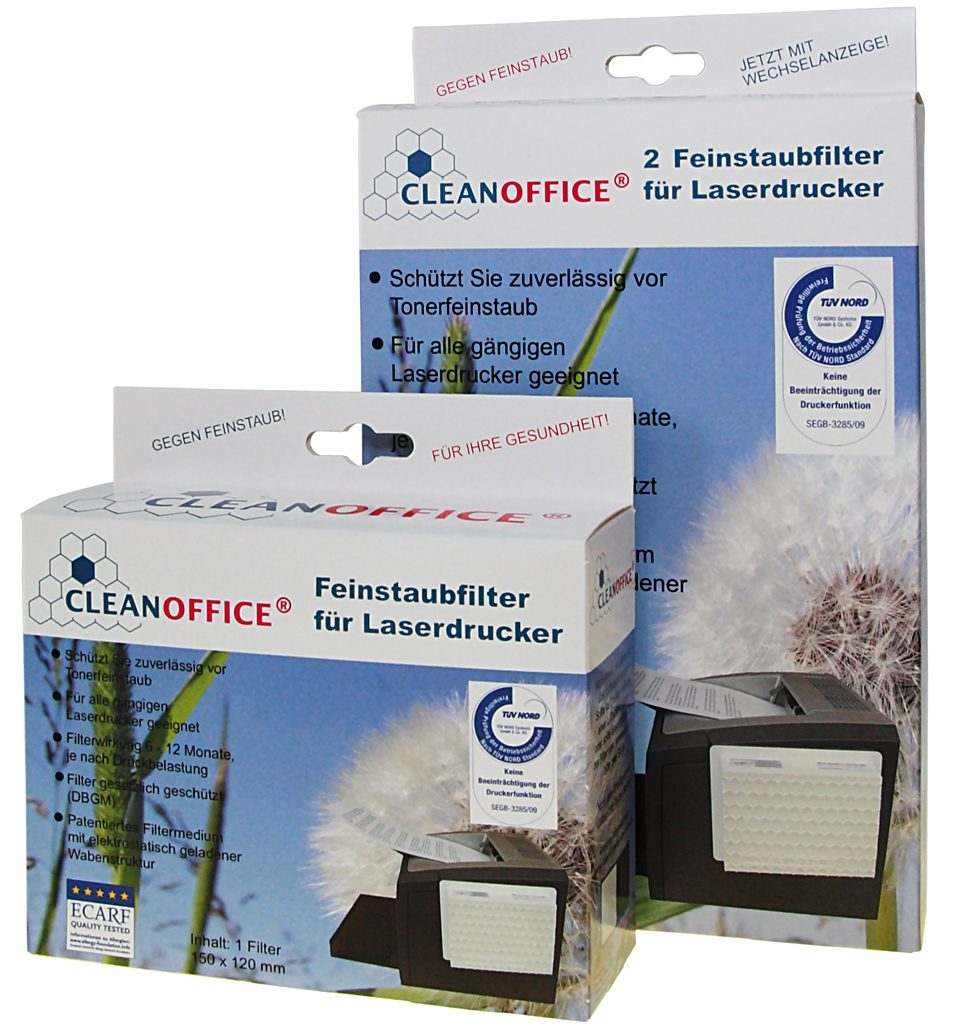 CLEANOFFICE Druckerzubehör »Feinstaubfilter 1 Filter «