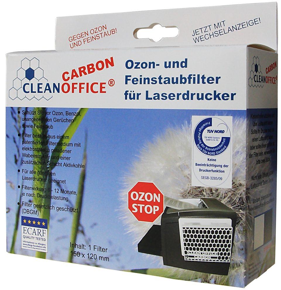CLEANOFFICE Ozon- und Feinstaubfilter »CARBON 1 Filter Schachtel«