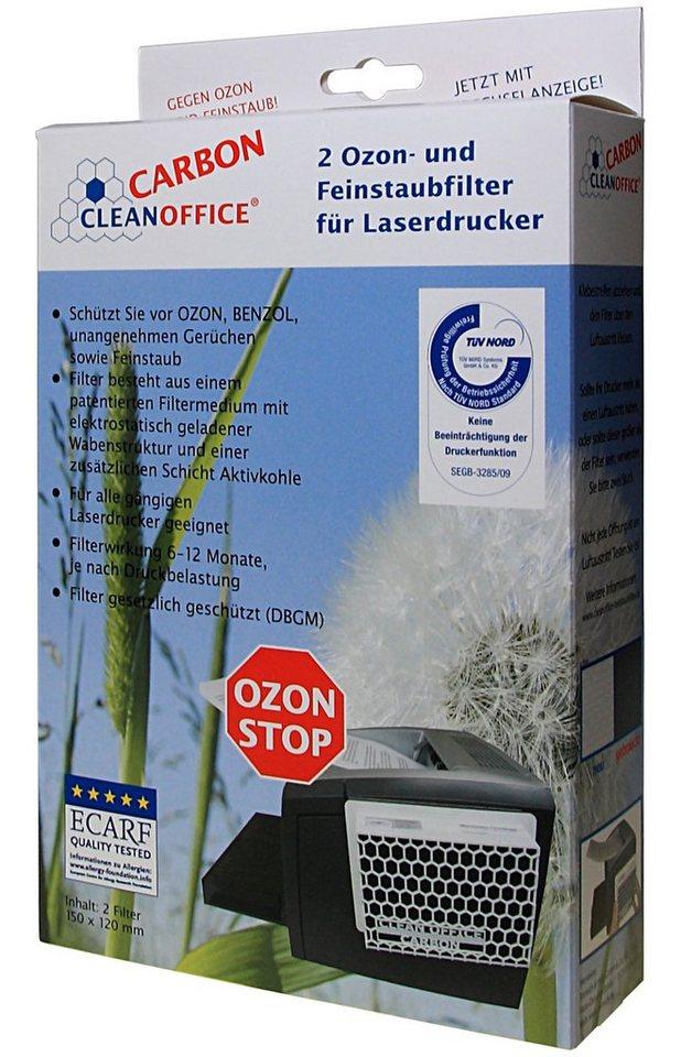 CLEANOFFICE Ozon- und Feinstaubfilter »CARBON 2 Filter Schachtel«