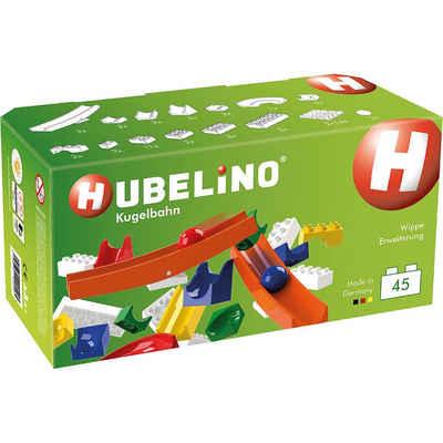 Hubelino Spielbausteine »Hubbelino - Kugelbahn Wippe Ergänzung, 45-tlg.«
