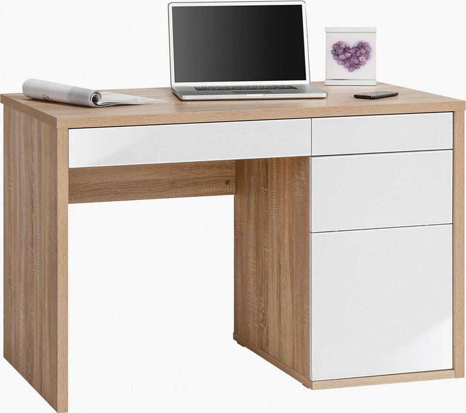 maja m bel schreibtisch wismar mit push to open funktion online kaufen otto. Black Bedroom Furniture Sets. Home Design Ideas