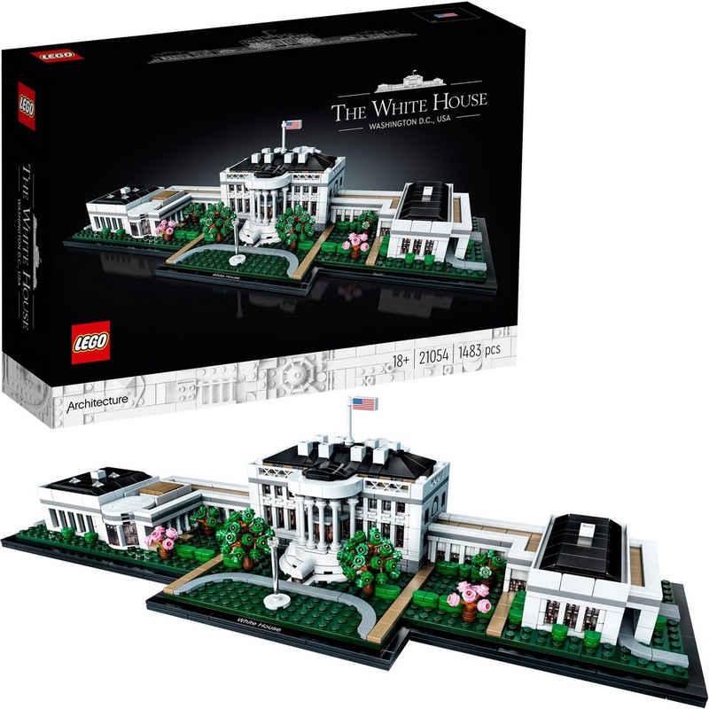 LEGO® Konstruktionsspielsteine »Das Weiße Haus (21054), LEGO® Architecture«, (1483 St), Made in Europe