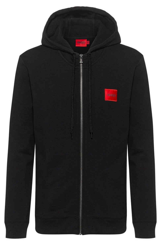 HUGO Sweatshirt »Herren Sweatjacke - Daple212 - Zipper, Hoodie,«