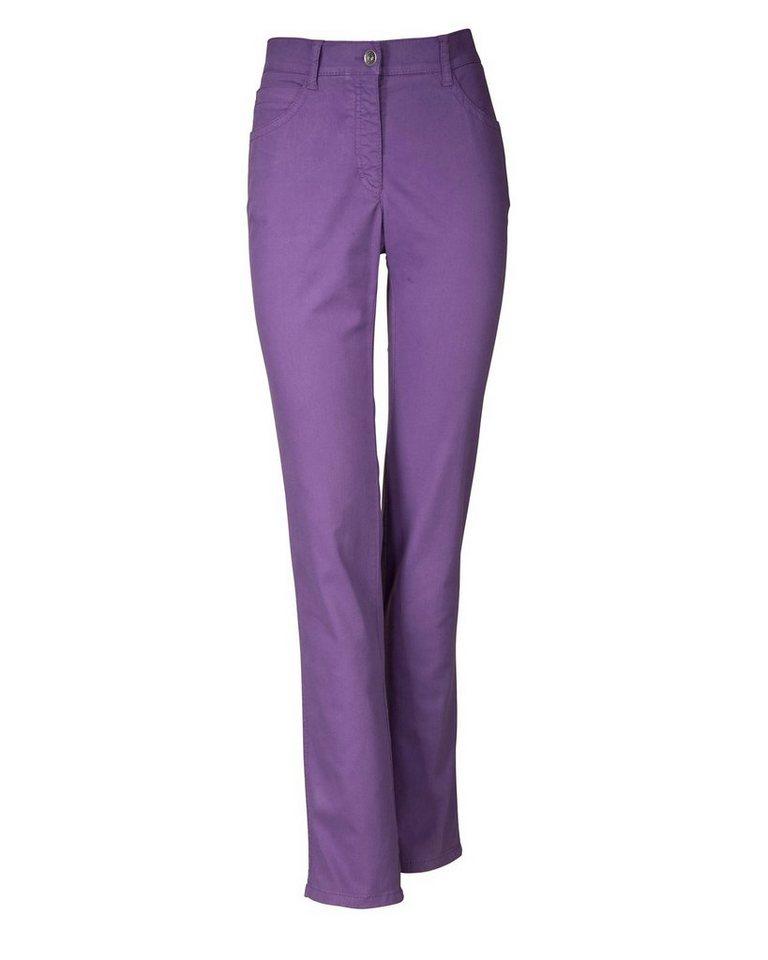 Brax 5-Pocket-Jeans Sara in Lila