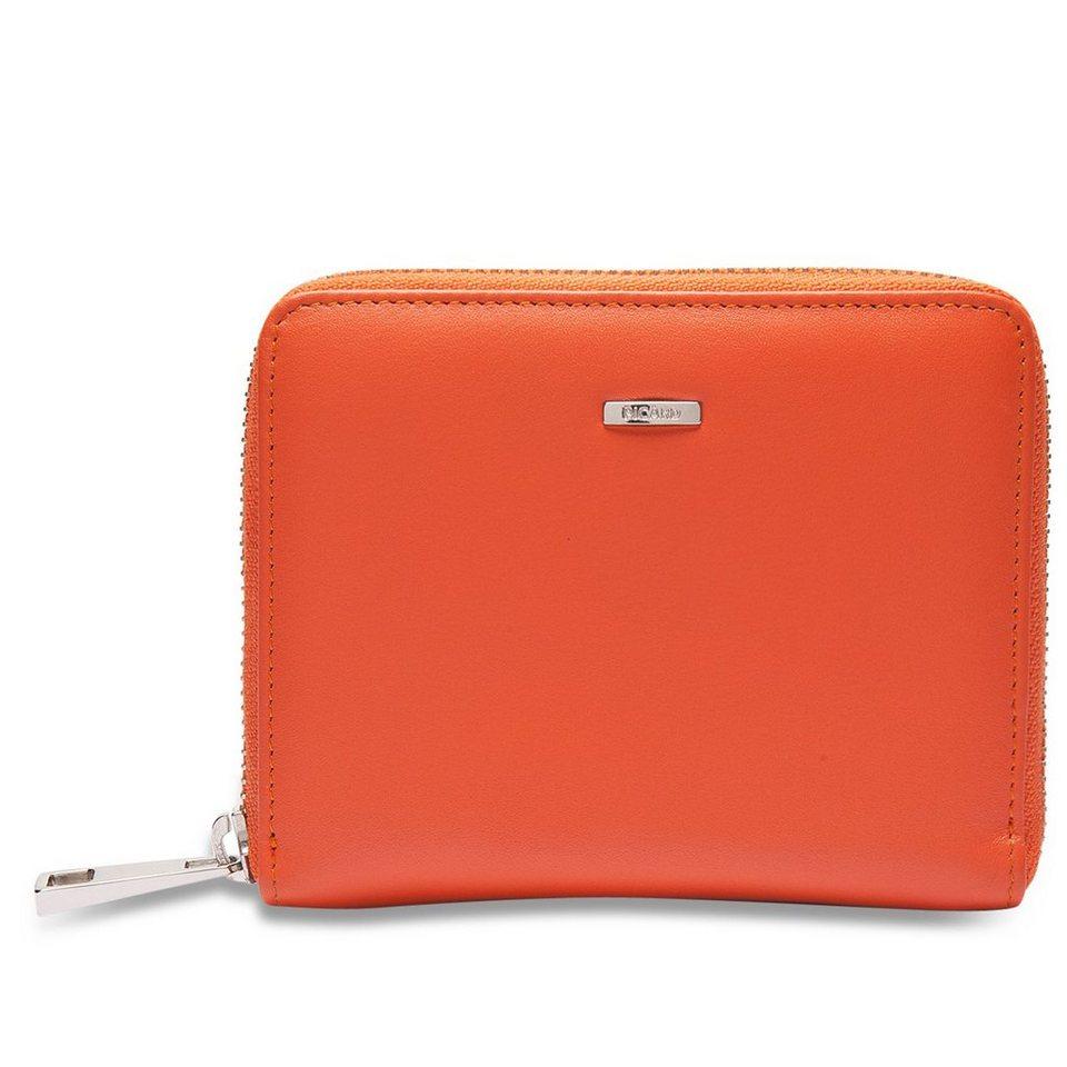 Picard Bingo Geldbörse Leder 13 cm in orange
