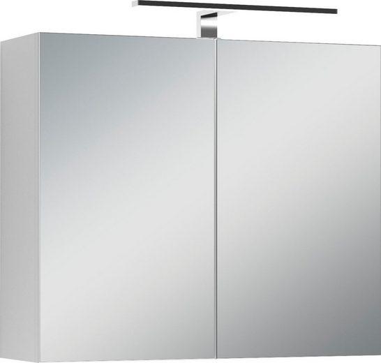 Homexperts Spiegelschrank »Salsa« Breite 70 cm, mit LED-Beleuchtung & Schalter-/Steckdosenbox