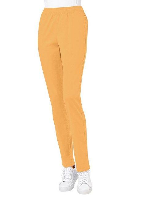 Hosen - Classic Basics Dehnbund Jeans › gelb  - Onlineshop OTTO