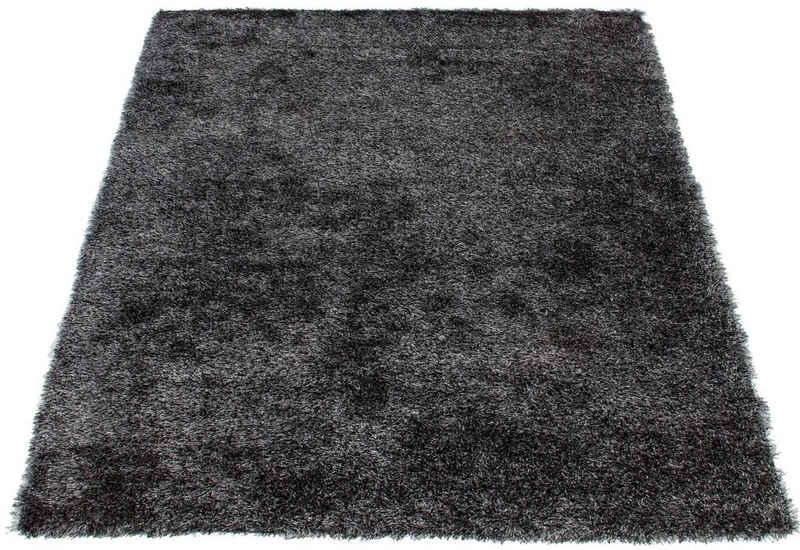 Hochflor-Teppich »Alga«, Bruno Banani, rechteckig, Höhe 40 mm, Wohnzimmer