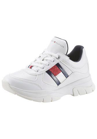 TOMMY HILFIGER Sneaker su Plateausohle