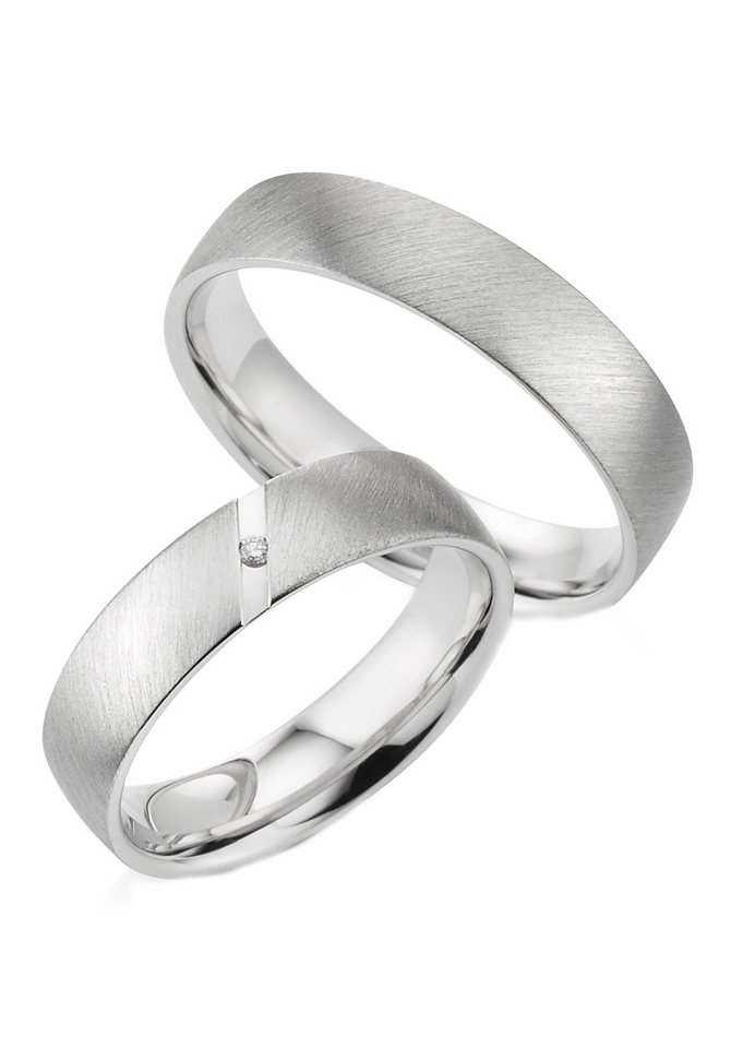 firetti Partnerschmuck: Partnerring in Silber 925