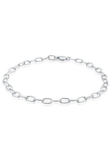 Elli Armband »Charmträger Bettelarmband Trend Basic 925 Silber«
