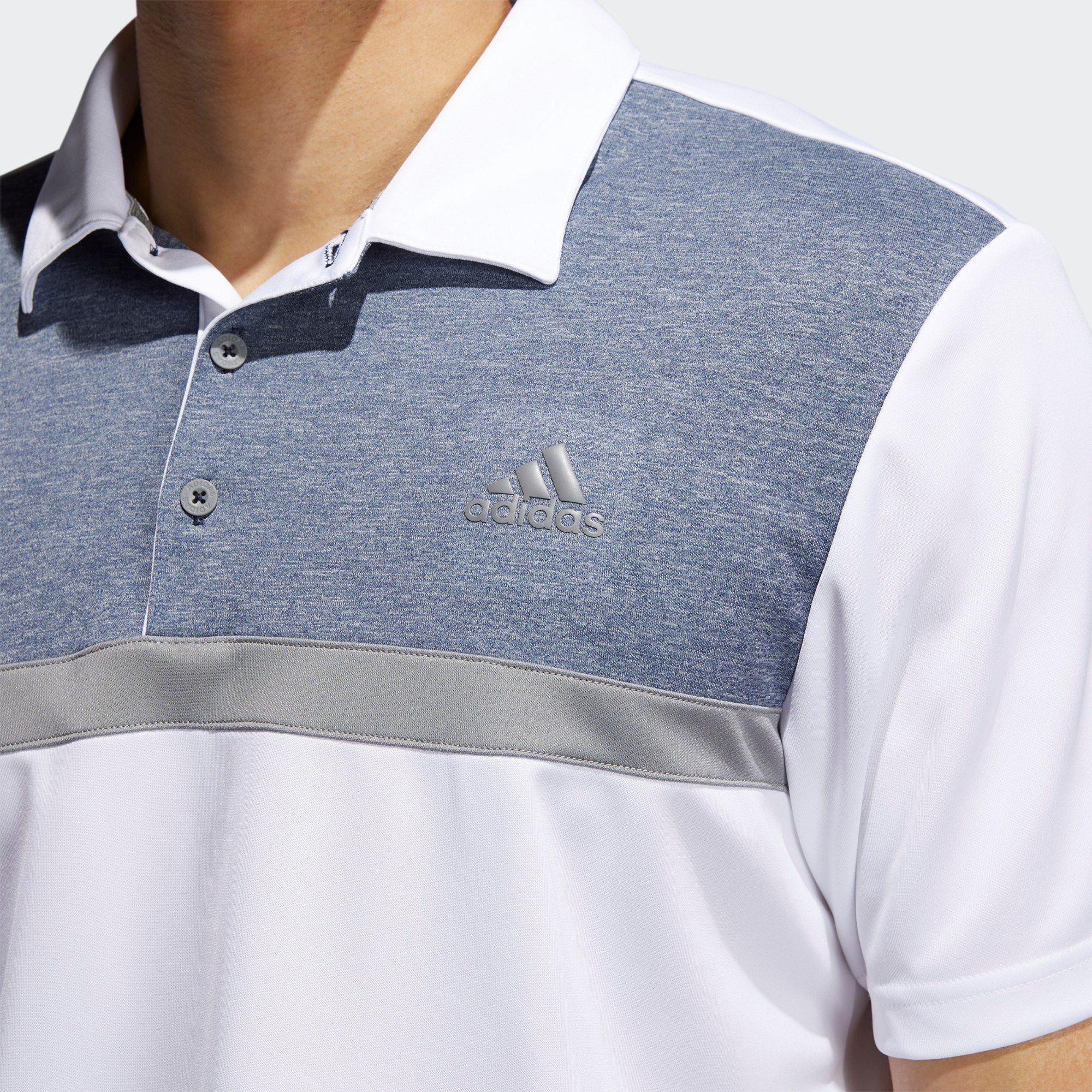 adidas Performance Poloshirt Novelty Colorblock Poloshirt